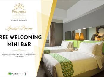Pesonna Hotel Pekalongan - Deluxe Twin Room Only Regular Plan