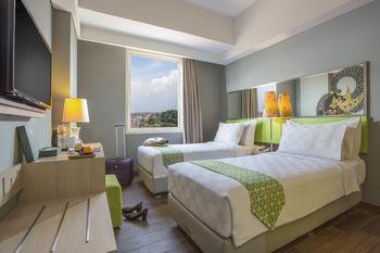 Pesonna Hotel Pekalongan - Superior Twin Bed 1 Breakfast Regular Plan