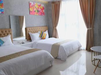 The Batik Bed & Coffee Bandung - Family Room Regular Plan