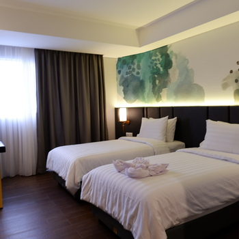 Horison Ultima Bhuvana Ciawi Bogor - Deluxe Twin Room Only EB 14 Day Min Stay 1