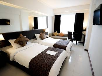 Solaris Hotel Bali - Deluxe Twin Room Only Regular Plan