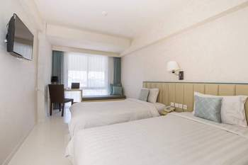 Solaris Hotel Bali - Deluxe Twin Room Only Hot Deal - 55%