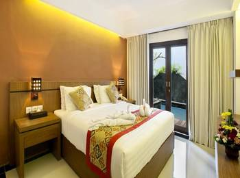 Grand La Villais Hotel & Spa Seminyak - Deluxe Lagoon Room Only Basic Deal 20% OFF