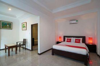 OYO 1840 Kubu Ubud Hotel Bali - Deluxe Double Room Regular Plan