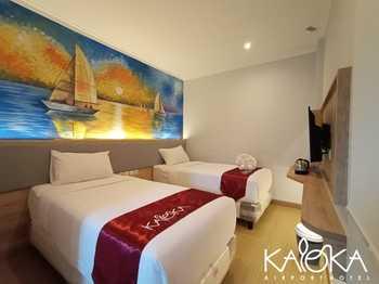 Kaloka Airport Hotel Sumbawa - Deluxe Twin( B'fast + Airport Shuttle) Regular Plan