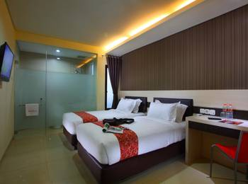 Sumi Hotel Semarang - Deluxe Twin - Room Only Regular Plan