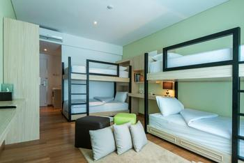 Yan's House Hotel Kuta - Quadruple Chill Out Room Only Minimum Stay 3 Nights