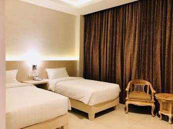 Amazing Riverside Hotel LubukLinggau Lubuklinggau - Superior Twin Room Only Basic Deal 50%
