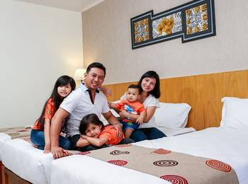 Griya Persada Convention Hotel & Resort Bandungan Semarang - Family Room Regular Plan
