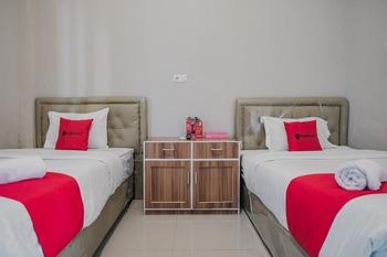 RedDoorz Syariah near Balai Kota Bengkulu Bengkulu - RedDoorz Twin Room Basic Deal