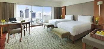 Fairmont Singapore - Deluxe Harbour, 1 King Bed (Newly Renovated) Regular Plan