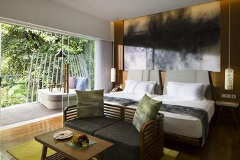 Maya Sanur Resort & Spa Bali - Deluxe Lagoon View Room,1 King Bed
