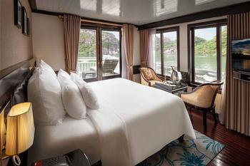 Paradise Luxury Cruise Ha Long - Suite, teras (Double or Twin Room) Hemat 20%