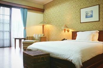 Chandra Residence Jakarta - Deluxe Studio Suite, 1 King Bed, Smoking, City View Regular Plan