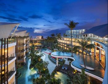 Le Meridien Bali Jimbaran - Kamar, pemandangan laguna Regular Plan