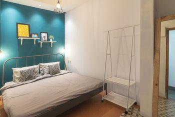 Wonderloft Hostel Jogja Yogyakarta - Double King with Garden View  Regular Plan