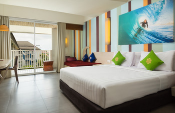 Bliss Surfer Thematic Hotel Bali -  Junior Suite with Breakfast MINSTAY3N