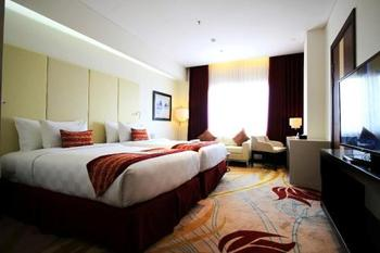G Sign Hotel  Banjarmasin - Dow Jones Twin Room Regular Plan