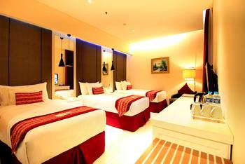 G Sign Hotel  Banjarmasin - Nasdaq Triple Room Regular Plan