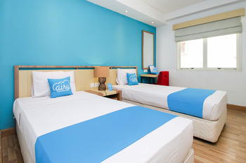 Airy Denpasar Barat Patih Jelantik 8 Bali - Deluxe Twin Room Only Special Promo Aug 42