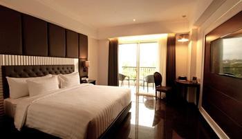Grand Dafam Rohan Jogja (DHM Syariah) Yogyakarta - Deluxe Double Balcony - Room Only Regular Plan