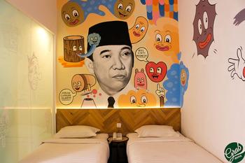 Grab Hotel Gresik Gresik - Gold Twin Room Only Promo PEYUK