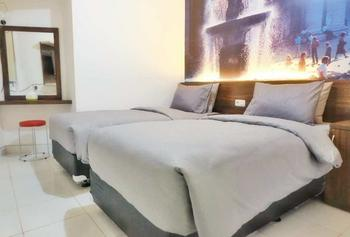 Green Stay Inn @Aeropolis Tangerang - Superior Room Only - Twin Bed Regular Plan