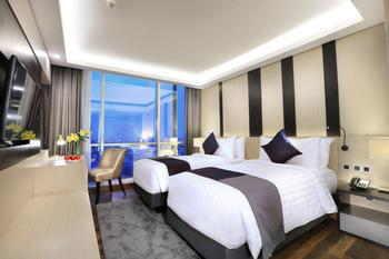 Aston Kartika Grogol Hotel & Conference Center Jakarta - Deluxe Twin Room Only Regular Plan