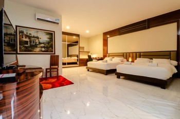 Alinson Boutique Resident Batam - Deluxe Twin Suite NR Min 2 Nights