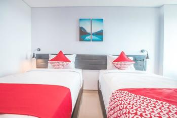 OYO 258 Flagship The Enviro Cikarang Bekasi - Standard Twin Room Regular Plan