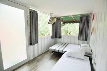 HAU Eco Lodges Citumang Pangandaran - Container Deluxe Room Regular Plan