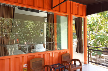 HAU Eco Lodges Citumang Pangandaran - Deluxe Container Room Regular Plan
