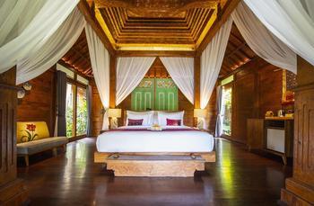 Ubud Valley Boutique Resort Bali - Deluxe Villa With Valley View Regular Plan