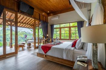 Ubud Valley Boutique Resort Bali - One Bedroom Private Pool Villa With Valley View Regular Plan
