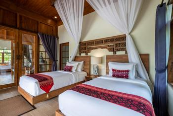 Ubud Valley Boutique Resort Bali - Two Bedroom Private Pool Villa With Valley View Regular Plan