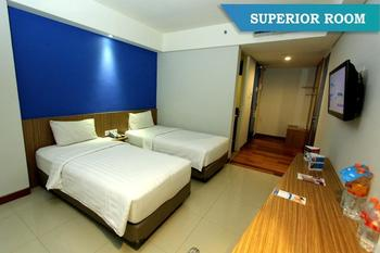 Fabu Hotel Bandung - Superior Room Twin Bed Room Only Regular Plan