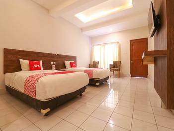 OYO 1384 Pulau Bali Hotel Bali - Deluxe Twin Room Promotion