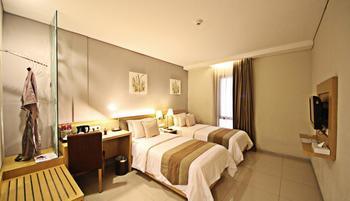 Anggrek Gandasari Hotel Bandung - Superior Twin Room Only Regular Plan