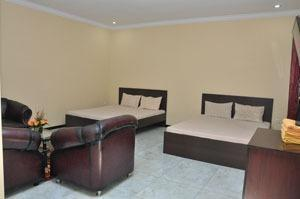 Wukir Mas Homestay Malang - Family Anggrek - 2 Double Bed Regular Plan
