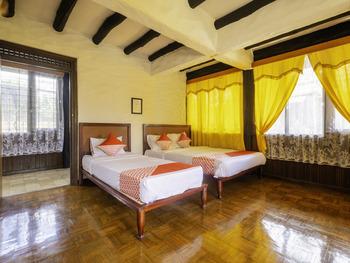 OYO 2640 Rumah Kayu Cottage Syariah Lembang - Deluxe Family Room Early Bird