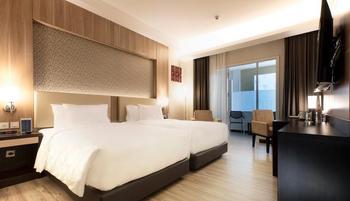 Best Western Kindai Hotel Banjarmasin - Deluxe Twin Balcony Non Smoking Room Regular Plan