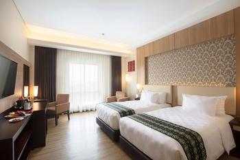 Best Western Kindai Hotel Banjarmasin - Deluxe Twin Smoking Room Promo Gajian