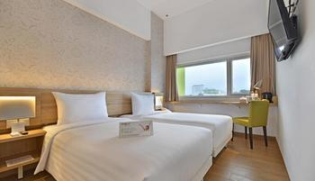 Whiz Prime Hotel Basuki Rahmat Malang Malang - Superior Twin Room Breakfast include Iftar Regular Plan