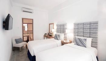 Adhisthana Hotel Yogyakarta - Deluxe Twin Lantai Atas Tanpa Sarapan Regular Plan