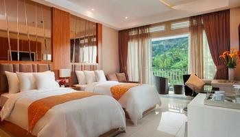 Le Eminence Puncak Hotel Convention & Resort Cipanas - Junior Suite Twin Energize Package Regular Plan