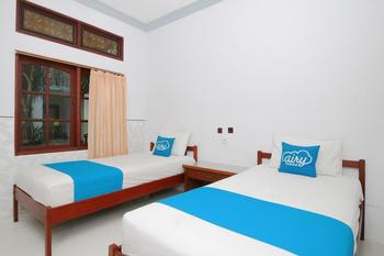 Airy Raya Legian 120 Kuta Bali - Standard Twin Room Only Regular Plan