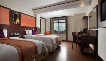 Best Western  Makassar - Deluxe Twin Room - Room Only Weekday Promo Disc 36% !!