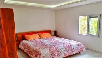 Serenity Twin Villa Canggu Bali - Private Studio Villa LG A - Kitchen & Pool Regular Plan