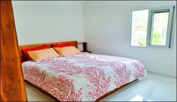 Serenity Twin Villa Canggu Bali - 2 Bedroom Villa AB at Upper Deck Regular Plan