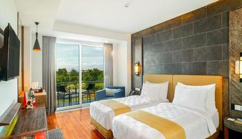 Swiss-Belresort Pecatu Bali - Deluxe Balcony Twin Minimum Stay 2 Nights